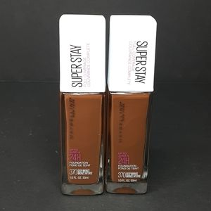 Pair Of Maybelline Super Stay Foundations
